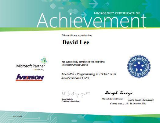 HTML5 Certification html5-cert